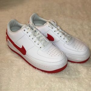 Nike Women's Air Force 1 Jester XX University Red